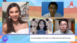 The Universe Speaks: The Pride in Our Millennials with Catriona Gray